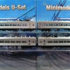 U Boat Set No. 542, 4 Cars, Twin Headlights, Beclawat Windows