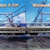 U Boat Set No. 537, 2 Car, Single Headight, Liftup Windows, Circa 1958