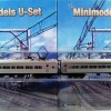 U Boat Set No. 543, 2 Cars, Twin Headlights, Beclawat Windows